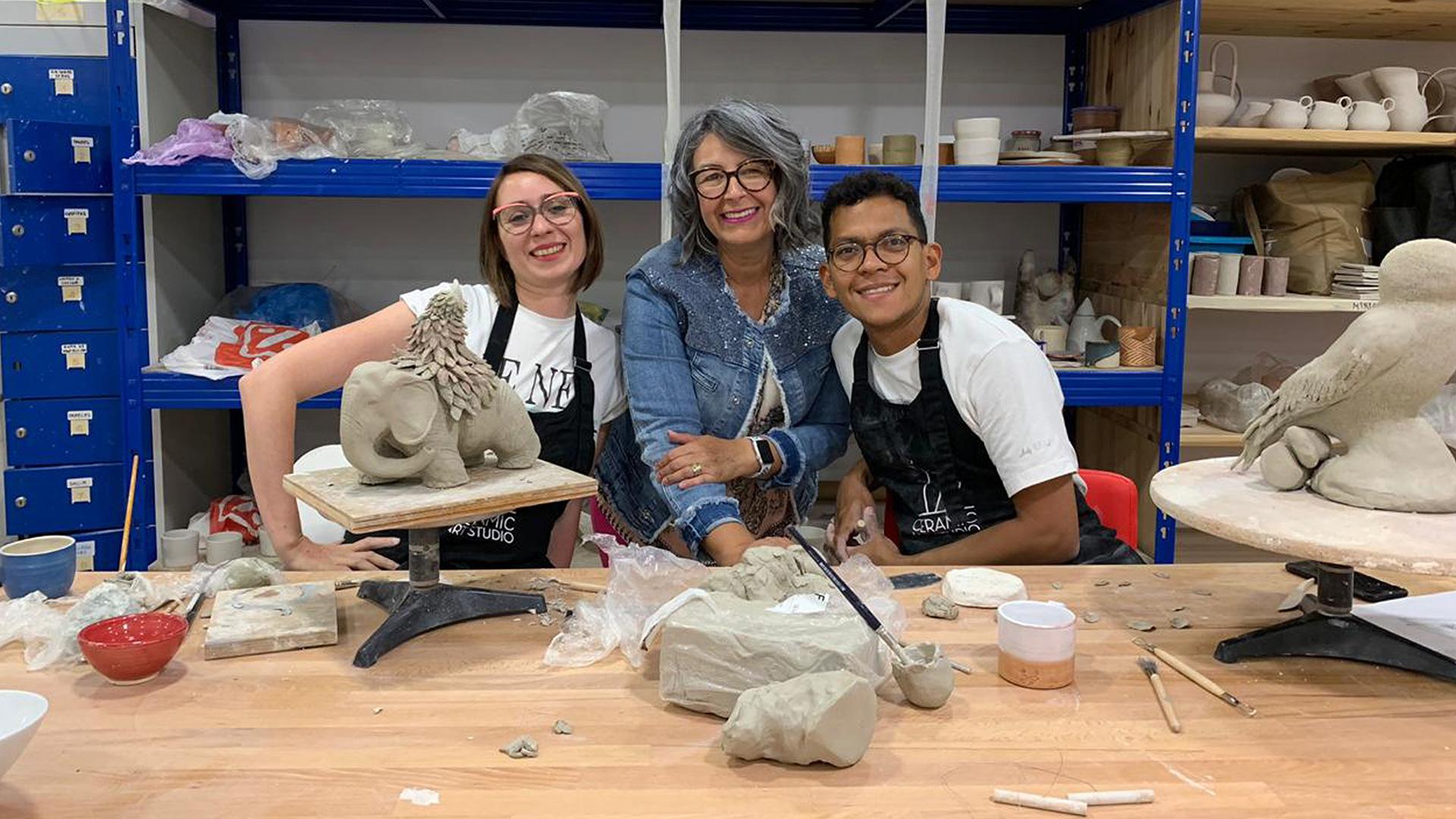 acceso libre taller cerámica 1