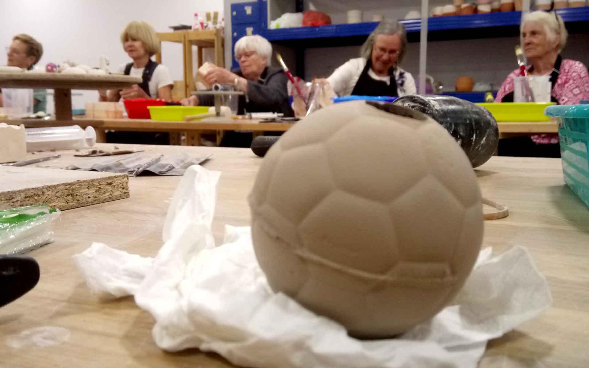 talleres internacionales de cerámica