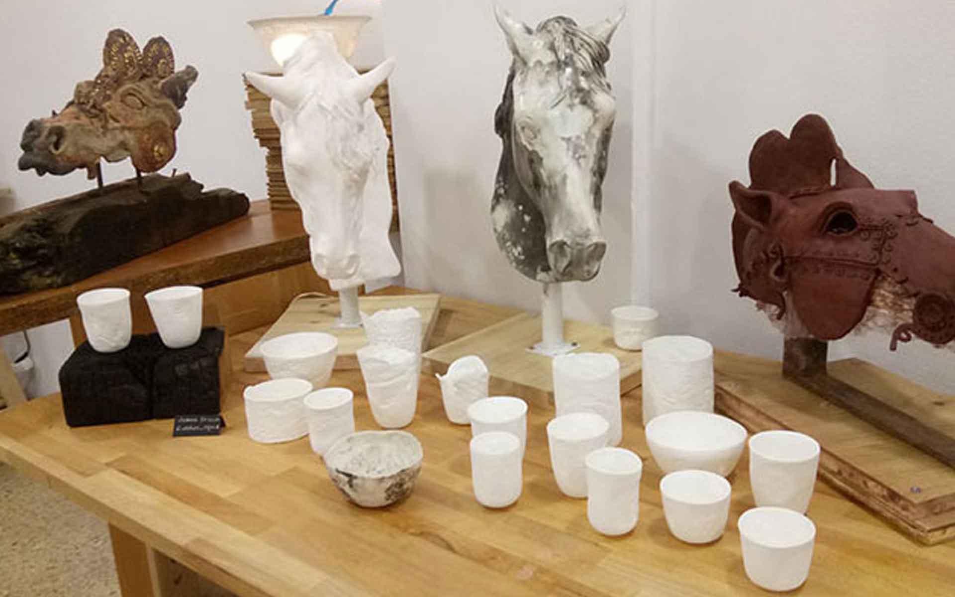 espacios de trabajo cerámica