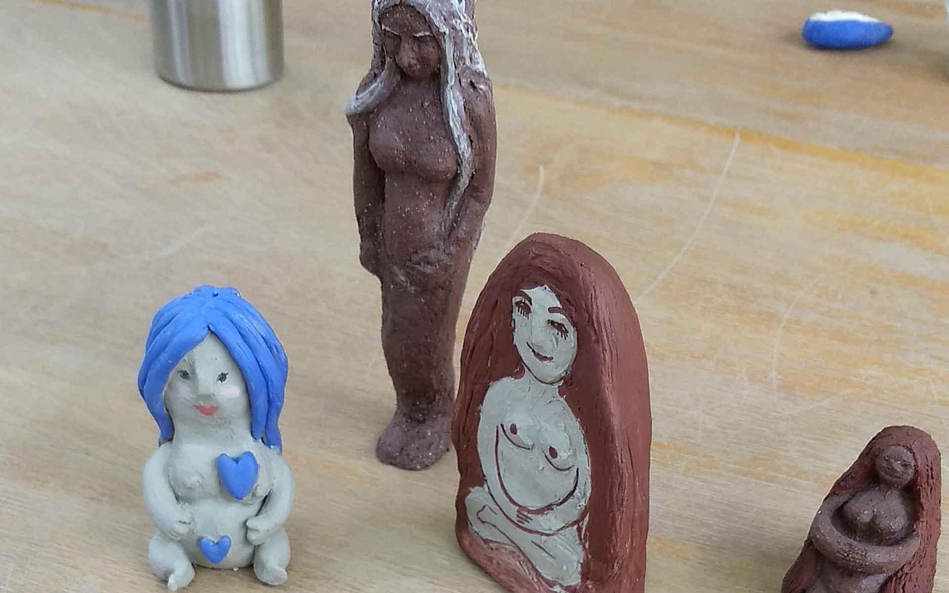 diosas de cerámica 4