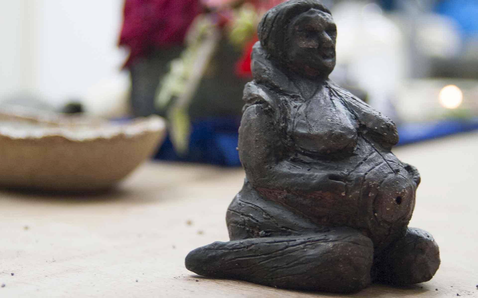 diosas de cerámica 3